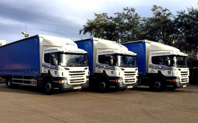 Logistics Edinburgh, William Waugh Ltd, Waste Recycling, Metal Recycling & Logistics, Edinburgh, Lothians, Scotland, UK