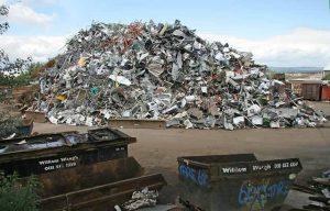 Scrap Metal Yard at William Waugh