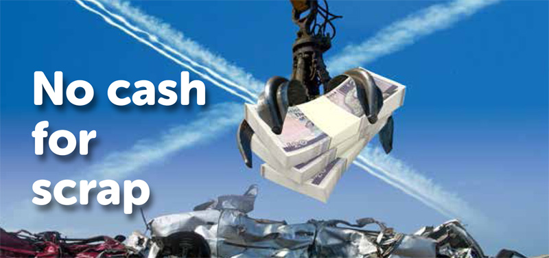 No Cash For Scrap