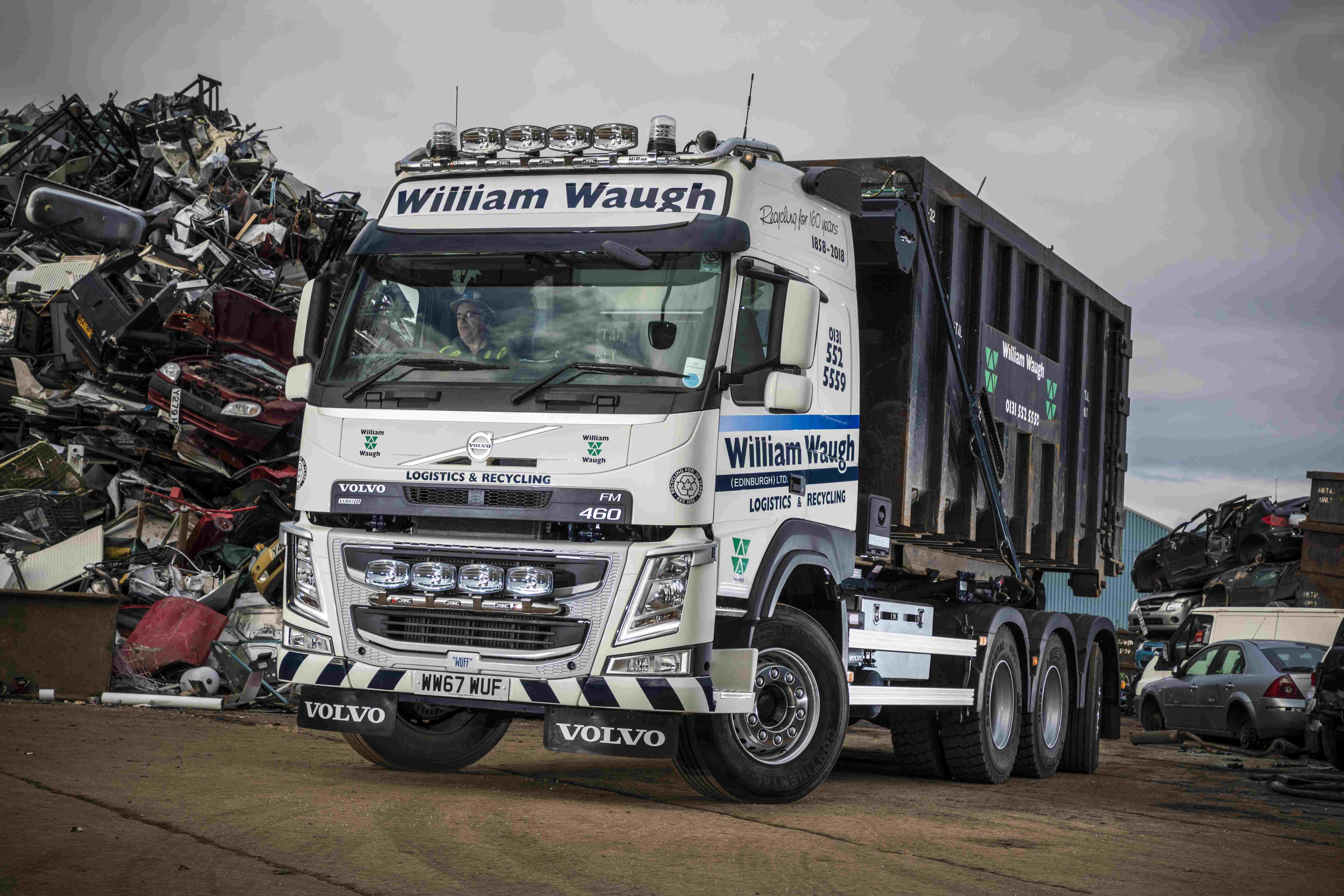 First in Scotland – Volvo FM Tridem Hooklift
