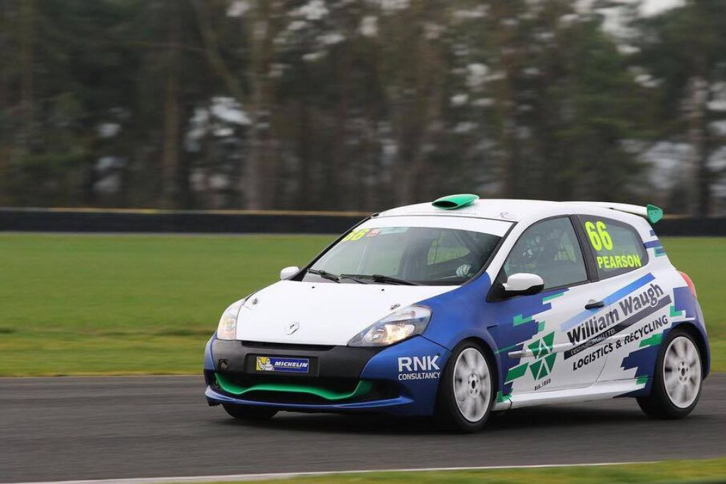 Fantastic start to the season for Ronan in the Michelin Clio Cup – Keep it Up!!